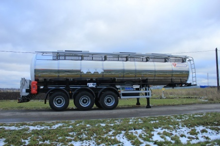 3-axle semitrailer for food products transportation SF3025 - ЗАО «Сеспель»