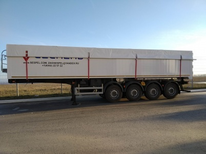 Semi-trailer Grain Truck DB4U45 - ЗАО «Сеспель»