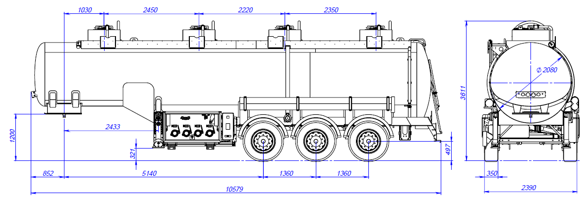 Axle load calculation