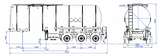 SF3B30.1S fifth-wheel 1250, 1 compartment_11 - ЗАО «Сеспель»