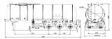 SF3B28.1S_71, 28 m3, 1 compartment, fifth-wheel СУ 1150 - 1 |  ЗАО «Сеспель»