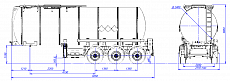 SF3B30.1S fifth-wheel 1250, 1 compartment_10 - ЗАО «Сеспель»