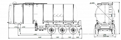SF3B30.1S fifth-wheel 1350, 1 compartment_17 - ЗАО «Сеспель»