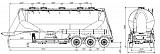 SF3U39.2A_02, fifth-wheel 1150, 2 compartments - 1 |  ЗАО «Сеспель»
