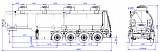 4-axle steel semitrailer SF4332.4S_08 - 1 |  ЗАО «Сеспель»