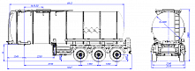 SF3B30.1S fifth-wheel 1350, 1 compartment_02 - ЗАО «Сеспель»