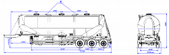 SF3U48_3A_11 fifth-wheel 1150, 3 compartments - ЗАО «Сеспель»