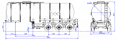 SF3B30.1S fifth-wheel 1250, 1 compartment_13 - ЗАО «Сеспель»