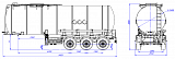 SF3B32_1S fifth-wheel 1350, 1 compartment_03 - 1 |  ЗАО «Сеспель»