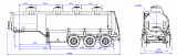 SF3328_4S_06, fifth-wheel 1250, 4 compartments, 28 m3 - 1 |  ЗАО «Сеспель»