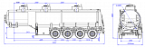 4-axle steel semitrailer SF4332.3S_07 - 1 |  ЗАО «Сеспель»