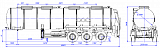 96487B fifth-wheel 1250, 1 compartment_40 chemical - 1 |  ЗАО «Сеспель»
