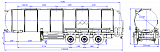 Semitrailer for food liquids transportation SF3030_4N_01 - 1 |  ЗАО «Сеспель»
