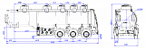 SF3328_5S_01, fifth-wheel 1250, 3 compartments, 28 m3 - 1 |  ЗАО «Сеспель»