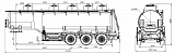 SF3330_5A_14, 30 m3, 5 compartments, fifth-wheel 1250 - 1 |  ЗАО «Сеспель»