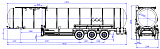 96487M fifth-wheel 1150, 1 compartment_30 bitumen - 1 |  ЗАО «Сеспель»