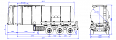 SF3B30.1S fifth-wheel 1350, 1 compartment_06 - ЗАО «Сеспель»