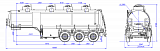 SF3328_4S_11, fifth-wheel 1350, 4 compartments - 1 |  ЗАО «Сеспель»