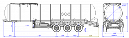 SF3B30.1S fifth-wheel 1250, 1 compartment_12 - ЗАО «Сеспель»