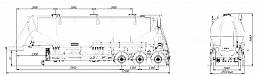 SF3U48_3A_24 fifth-wheel 1150, 3 compartments - ЗАО «Сеспель»