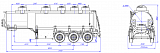 SF3328_5S_02, fifth-wheel 1250, 5 compartments, 28 m3 - 1 |  ЗАО «Сеспель»